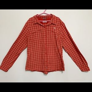 Columbia Omni-shade long sleeve women's shirt SzXL